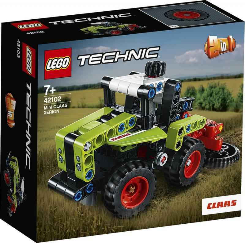 Lego 42102 Technik Mini CLAAS XERION